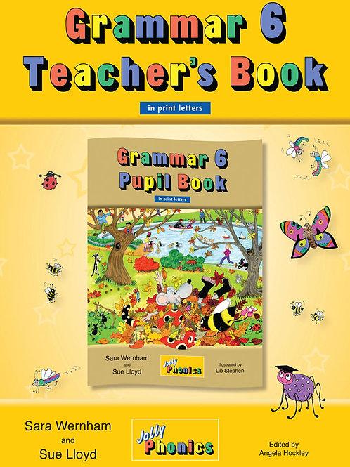 Grammar 6 Teacher's Book (in print )/グラマー6ティーチャーズブック( in print)