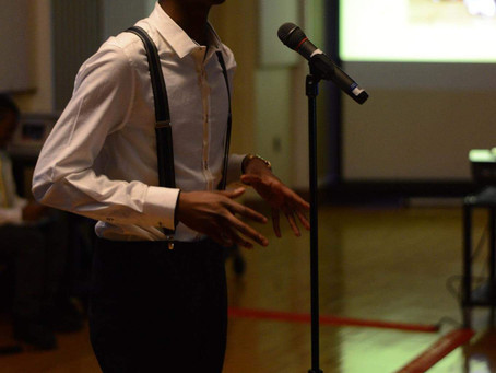 The poet Darion Ervin owes his life to poetry
