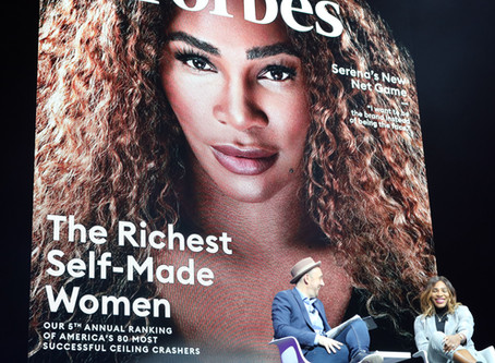 """Serena Williams quotes """"pay me in equity"""""""