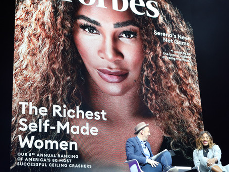 "Serena Williams quotes ""pay me in equity"""