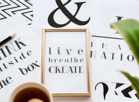Why write? Why create?