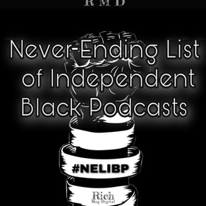 Never-ending list of independent Black podcasts #NELIBP