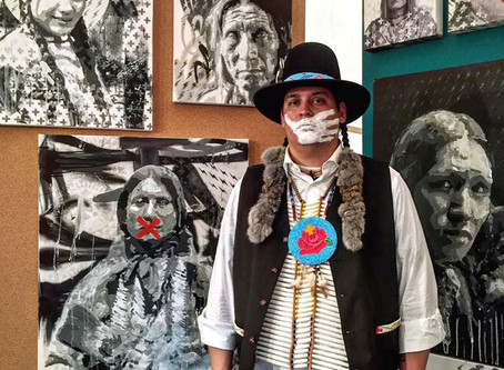 Native artist, Gregg Deal, uses art to fight for humanity