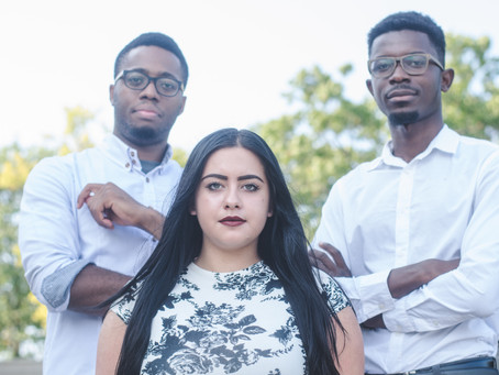 3 millennials represent representation through their design group Legacy MMG