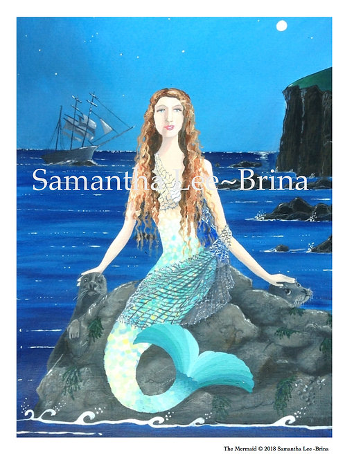 The Mermaid by Samantha Lee-Brina