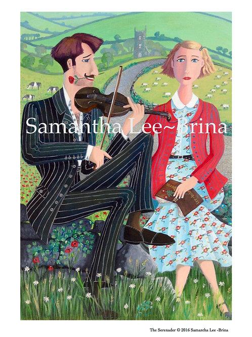 The Serenader by Samantha Lee-Brina
