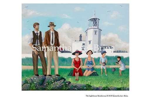 The Lighthouse Rendezvous by Samantha Lee-Brina