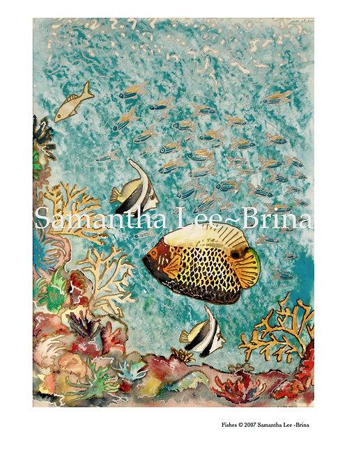 Fishes by Samantha Lee-Brina