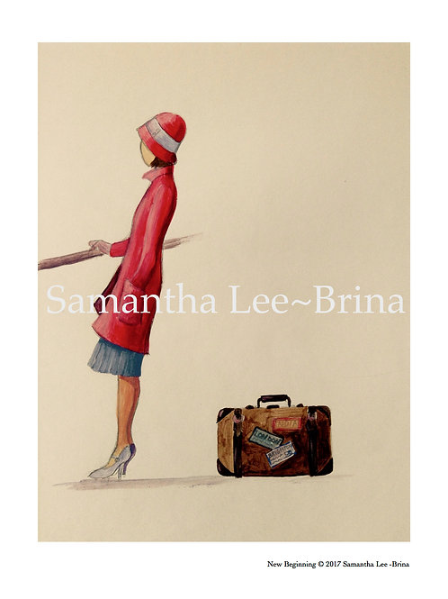 New Beginning by Samantha Lee-Brina