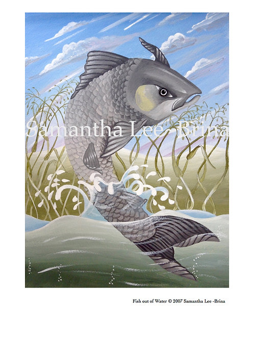 Fish Out of Water by Samantha Lee-Brina