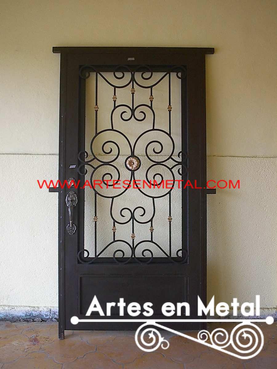 Puerta De Hierro Decorativas