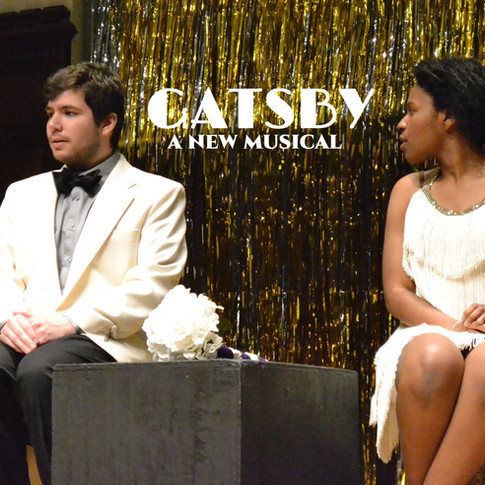 Peter Beik (Gatsby) and Richelle Burke (Daisy)