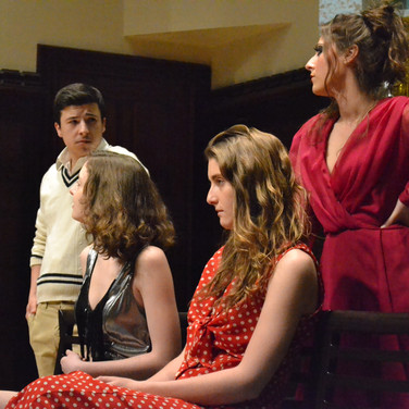 Ryan Berlin, Leah Baxter, Allison Day & Mallory Nargi