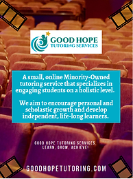 Good Hope Tutoring Services Ad.PNG