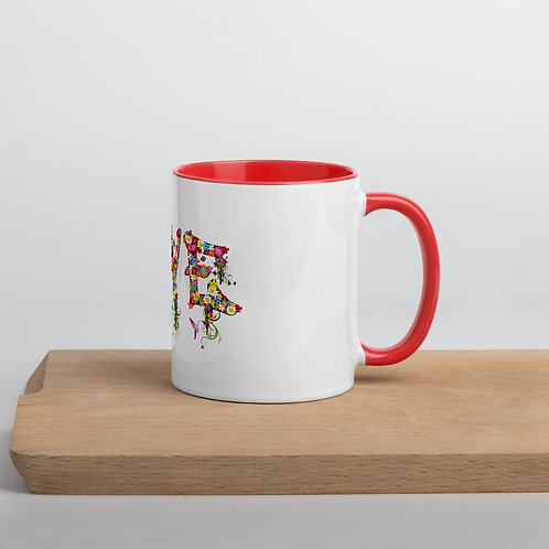 Love Collection Mug with Color Inside