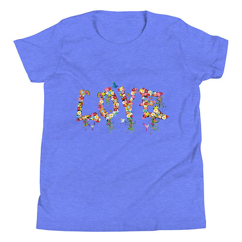Love Collection Youth Short Sleeve T-Shirt