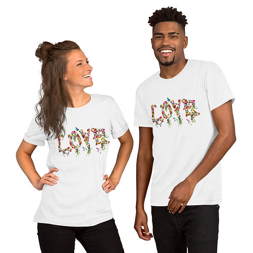 Love Collection Unisex Short-Sleeve T-Shirt