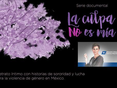 Fernanda Solórzano recomienda serie documental #LaCulpaNoEsMia En Atando Cabos con Denise Maerker.