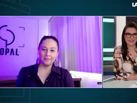 En La Octava, Dulce Vazquez habla de #LaCulpaNoEsMia con la Directora Vanessa Job.