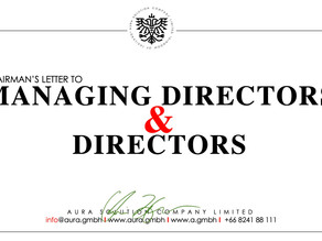 Letter to Managing Directors & Directors  : Aura Solution Company Limited
