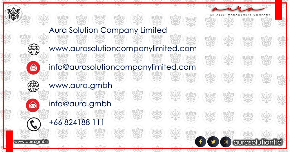 Announcement  : Aura Solution Company Limited
