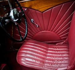SS Jaguar Interior