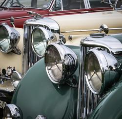 Jaguar headlamps