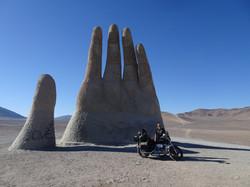 MANO DEL DESIERTO,ATACAMA DESERT,CHI