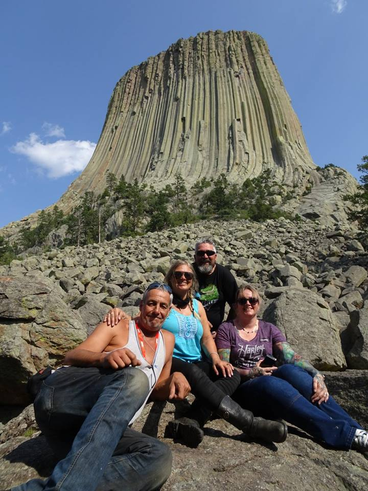 THE DEVIL'S TOWER