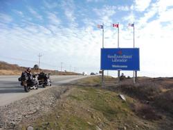 Arriving in Newfoundland