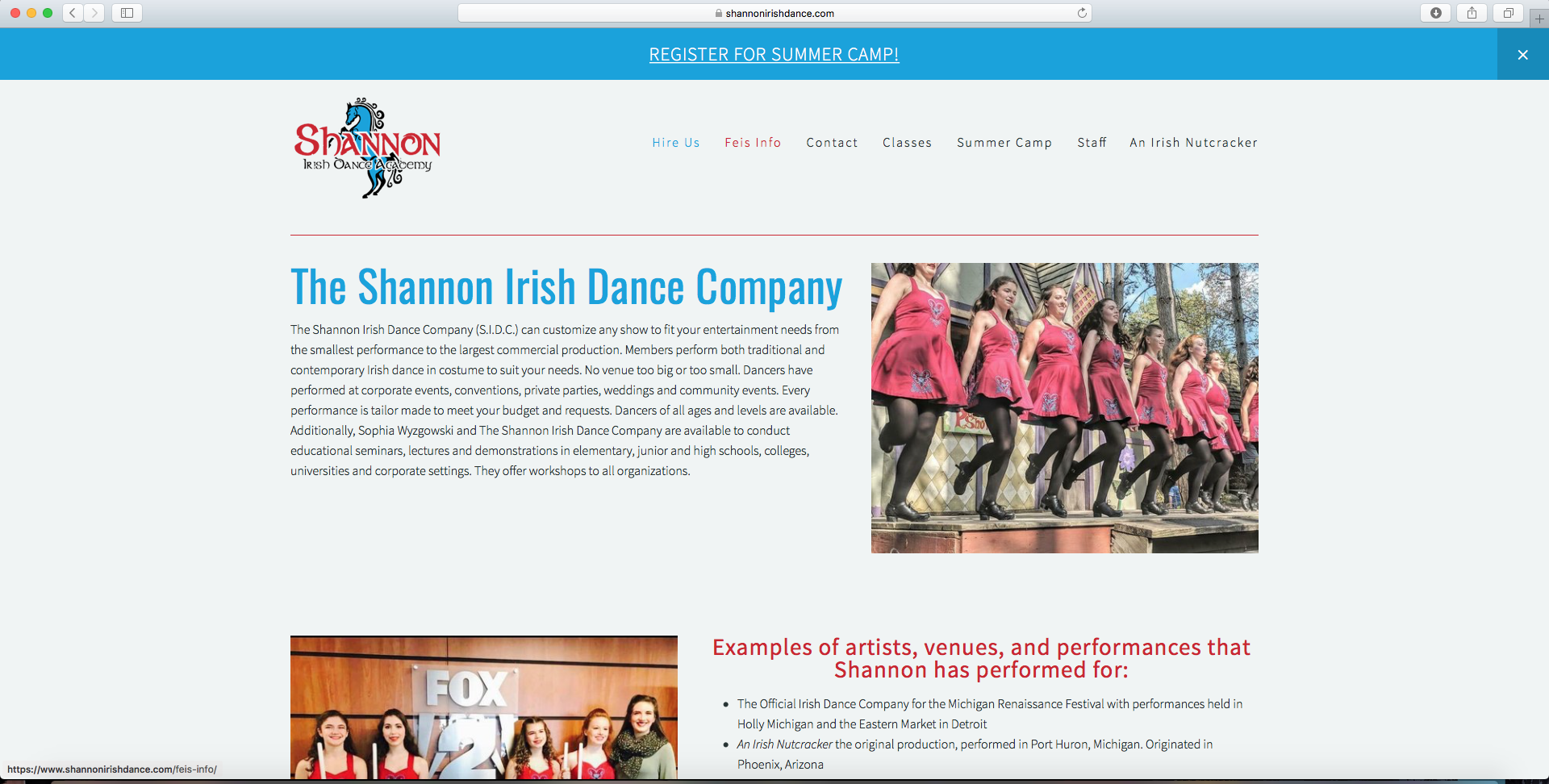 ShannonIrishDance.com