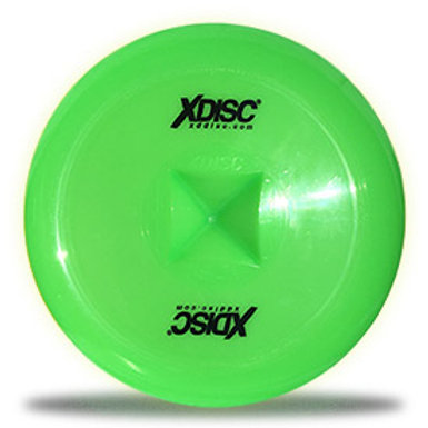 בצבע ירוק XDISC צלחת