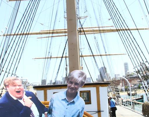 sailing to new england with chris farley - nathaniel klein