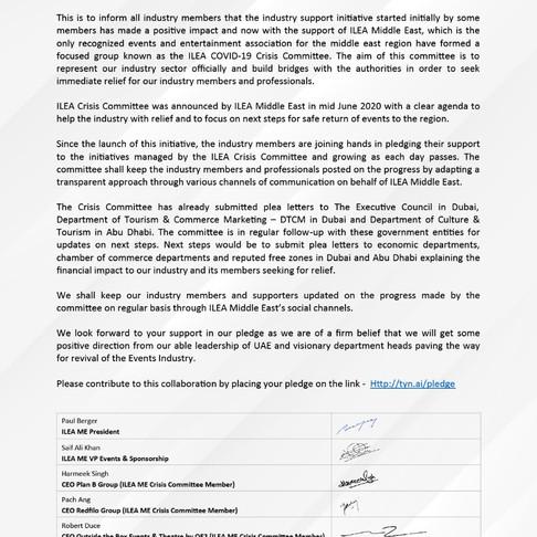 ILEA Announcement