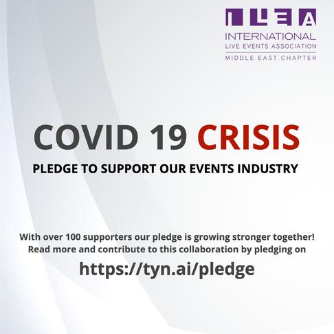 Pledge with us!