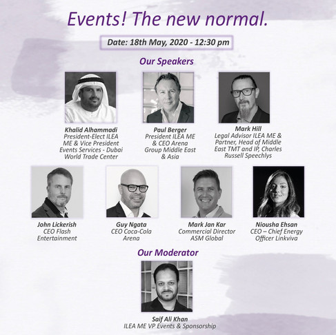 FULL WEBINAR - Events! The new normal.