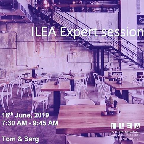 #ILEAExpert session!