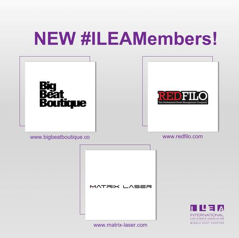 New #ILEAMembers!