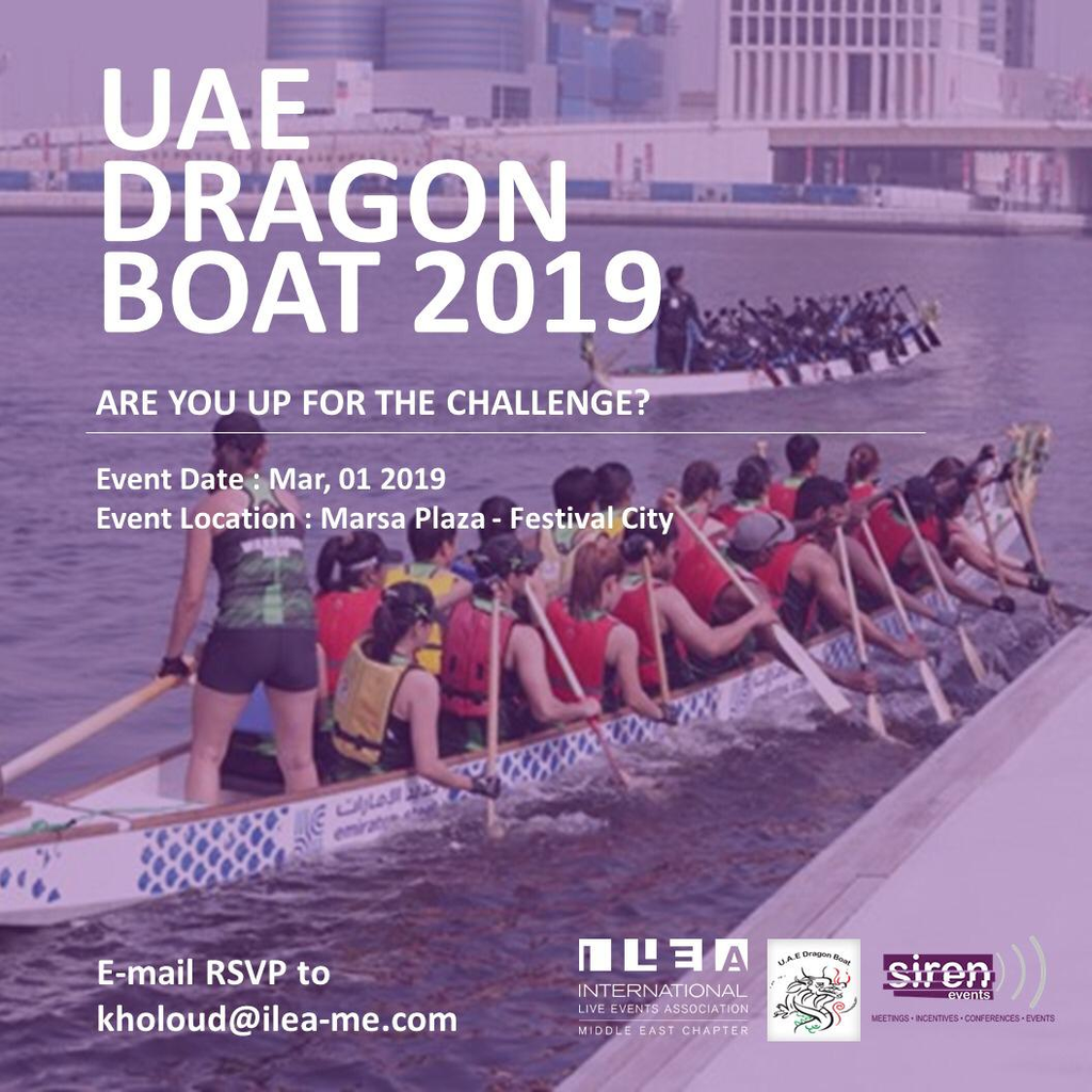 UAE Dragon boat race 2019