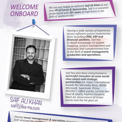 Saif Ali Khan - Welcome!