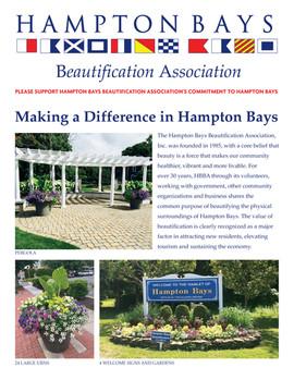 Hampton Bays Beautification Assoc.