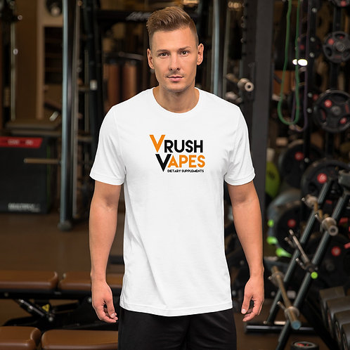 VRush Logo - Short-Sleeve Unisex T-Shirt