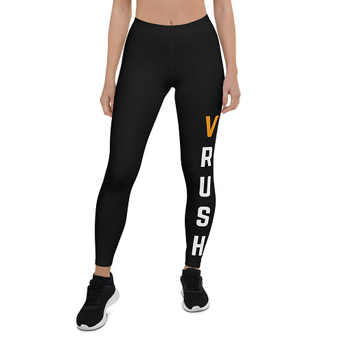 Vrush Logo Leggings - Black
