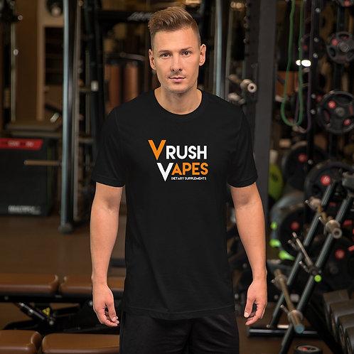 VRush Vapes Logo - Short-Sleeve Unisex T-Shirt