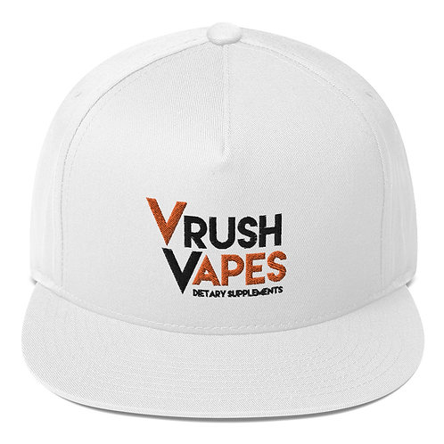 VRush Logo - Flat Bill Cap