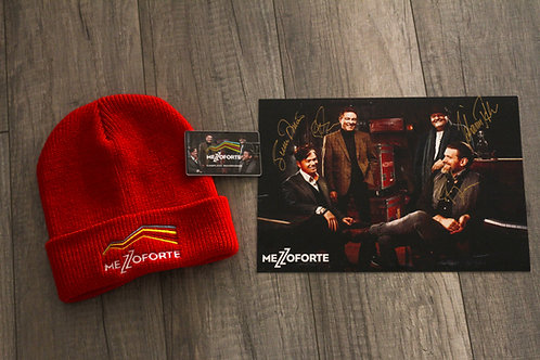 Package 4 - Hat+Signed Photo+USB