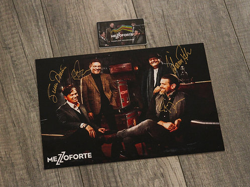 Package 3 - Signed Photo + Complete Recordings USB