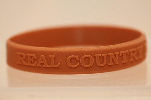 Real Country Music on Radio Wristband