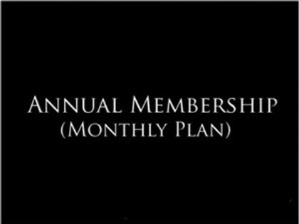 Annual Membership Monthly Plan