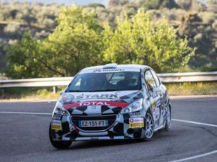 TRS Racing Team triunfa en la Peugeot Rally Cup Ibérica de la mano de Dani Berdomás y Stark by Ausav